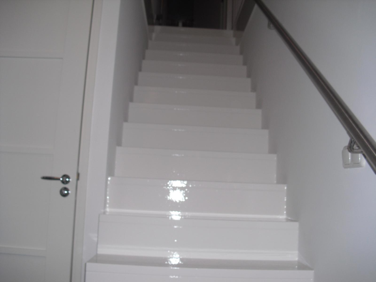 Schilderprojecten - Binnen trap ...
